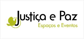 Logotipo Justiça e Paz - Espaços e eventos